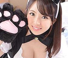 【松田真奈】 猫耳カチューシャをつけた激カワメイドさんとのイチャラブ中出しセックス 【tube8】