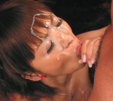 【星美りか】 ショートカット激カワ美女の可愛い顔に特濃ザーメンを顔射するセックス 【tube8】