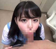 性教育に感化された女子校生が男子便所でクラスメイトのチンポをしゃぶる! 【tube8】