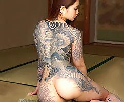 クビレボディに刺青が入っている巨尻美女とのセックス! 妙にエロさを感じるフェチ映像!! 【tube8】