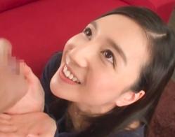 黒髪ロングの綺麗なお姉さんが主観バキュームフェラ! ドロドロの濃い精液を美味しそうにごっくん!!
