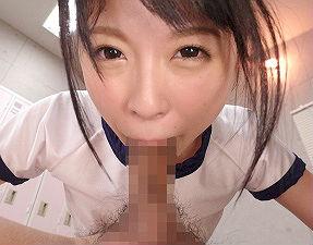 激カワ女子校生はチンポのことしか考えていない小悪魔ビッチ! クラスメイトの顔面に巨尻を押し付けてバキュームフェラ!!