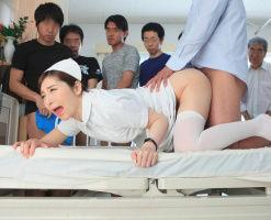 美人妻ナースが転任してきた病院での仕事は性処理担当! 男性患者たちの公衆肉便器として重宝される!!