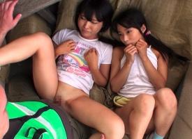 「おじさんと一緒に遊ぼうよ」 変態ロ〇コンオヤジが幼い女の子たちに声をかけて性的なイタズラをする犯行映像!!