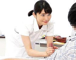 (モニタリング)心優しいナースさんがエッチなゲームに挑戦! 患者のチンポを連続手コキで射精させれたら賞金獲得!!