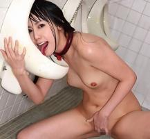 清楚な黒髪美女が男子トイレで男たちに好き勝手弄ばれるマジキチプレイ、本物肉便女!!