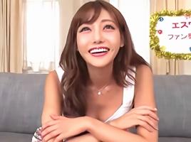 激カワ巨乳美女こと明日花キララちゃんのエロテク我慢できたらエッチできる権利を獲得!!