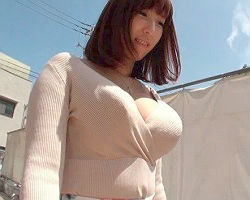 洋服の上からでもわかる巨乳の人妻がセックスレスが原因でAV出演! 生ハメ中出しセックス!!
