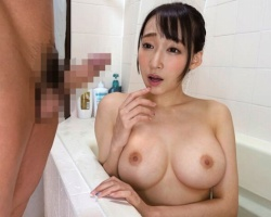美巨乳のクビレボディがエロすぎる姉の全裸を見て勃起してしまった結果・・・近親相姦中出しセックス!!