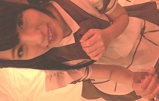 メイドカフェで働いている美少女が昼休憩中にAV出演! メイドカフェで身に着けている制服を着せたままハメ撮り!!