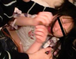 「誰か助けてぇぇ!」渋〇で見つけた若い娘を車で拉致、ヤリ部屋に連れ込みレ〇プする鬼畜男たち