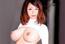 Hカップ巨乳で乳首が上向きの美女がイキまくりの生ハメ生中出しセックス!! 【tube8】