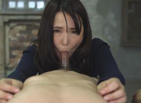 余りにも乳首責めされるノーハンドフェラチオ口内発射!バキューム最高!青山茉利奈