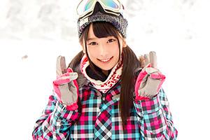 【マジックミラー号】ゲレンデで10代美少女に電光石火のハードピストン!