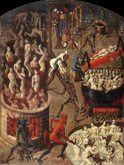 キリスト教地獄絵1
