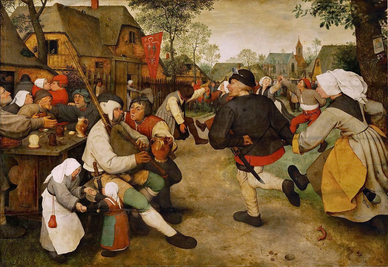 農民の踊り1568