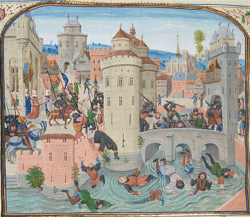ジャックリーの乱ジャン・フロワサール 1358