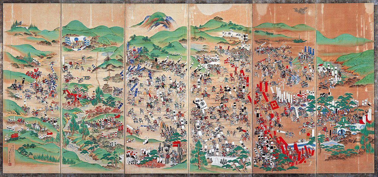 関ヶ原の戦い1620頃狩野派