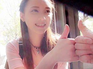 台湾から来たアジア美女と意気投合してハメ撮り!