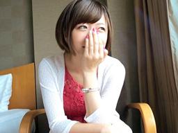 「濡れて…ないから…」渋谷でゲットした反応の可愛いショートカット美少女をハメ撮り