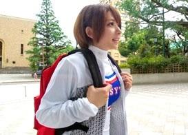 早○田大学でGETした童顔巨乳なチア部の女子大生がアヘ顔で感じまくる