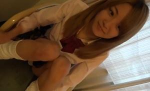 【無修正】色白ギャルな18歳の美少女JKとの円光ハメ撮り映像!