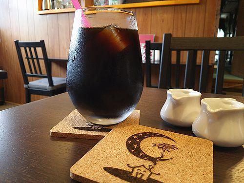 草津温泉カフェ花栞アイスコーヒー