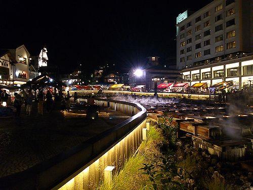 20170718草津温泉白根神社の祭り。湯畑5