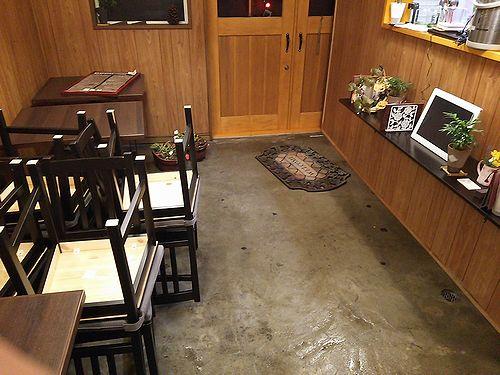 20171024草津温泉カフェ花栞(はなしおり)掃除1