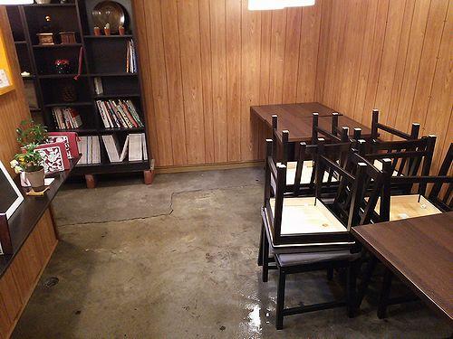 20171024草津温泉カフェ花栞(はなしおり)掃除2