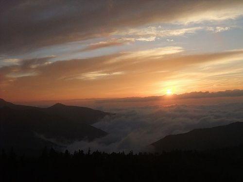 横手山ドライブインの雲海2
