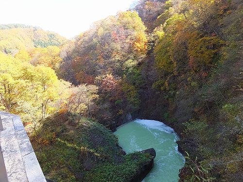 20171101中之条町品木ダム6