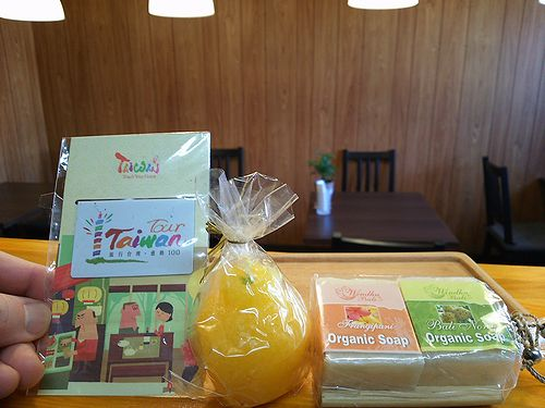 20171109草津温泉民泊花栞(はなしおり)宿泊のお客様から頂いたおみやげと手紙
