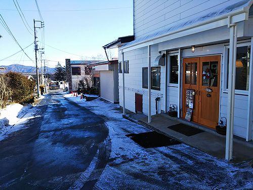 20171220草津温泉カフェ花栞(はなしおり)道路工事終了3