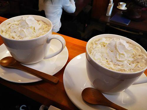 20180103草津温泉カフェ花栞(はなしおり)ウインナーコーヒー