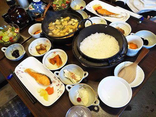20180109草津温泉カフェ花栞(はなしおり)今日の宿泊のお客様の朝食