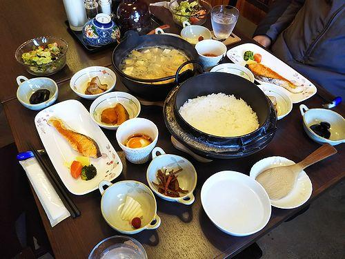 20180204草津温泉民泊花栞(はなしおり)宿泊のお客様の朝食2
