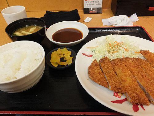 20180219大阪で食べたとんかつ