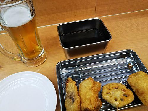 20180221大阪・新世界で食べた串かつ