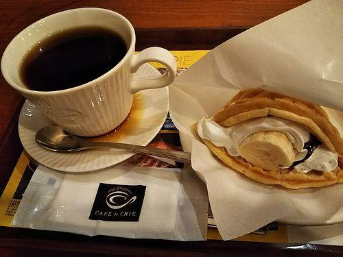 20180222名古屋栄オアシス21のカフェ