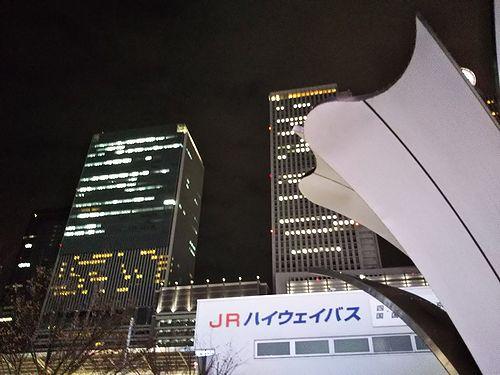 20180222名古屋東京夜行バス