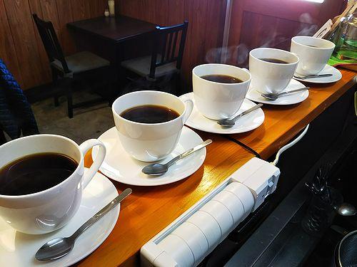 20180312草津温泉カフェ花栞(はなしおり)コーヒー