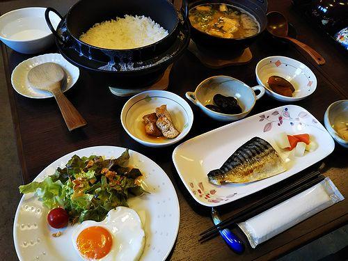 20180327草津温泉民泊花栞(はなしおり)宿泊のお客様の朝食