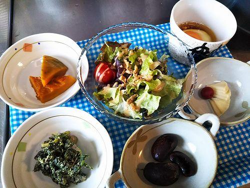 20180402草津温泉民泊花栞(はなしおり)宿泊のお客様の朝食の惣菜