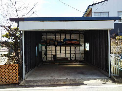 20180407草津温泉民泊花栞(はなしおり)ガレージを部屋に改築計画1