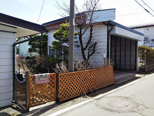20180407草津温泉民泊花栞(はなしおり)ガレージを部屋に改築計画3