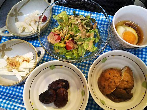 20180412草津温泉民泊花栞(はなしおり)宿泊のお客様の朝食