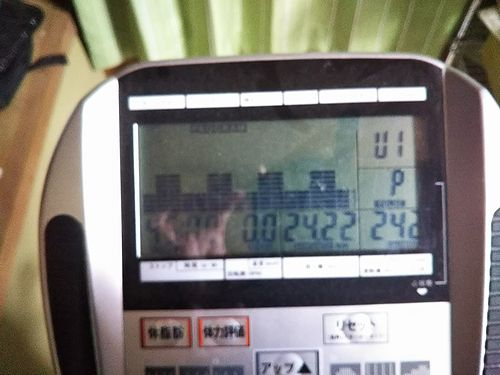エアロバイク ALINCO(アルインコ) プログラムバイク6215。24・22