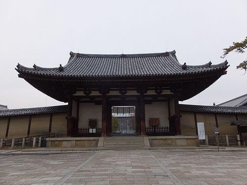 20180219奈良県斑鳩町法隆寺3