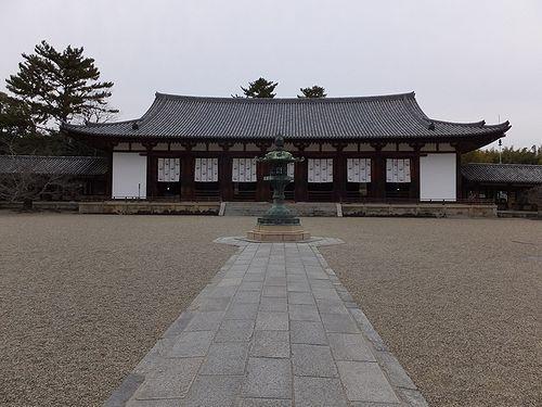 20180219奈良県斑鳩町法隆寺18